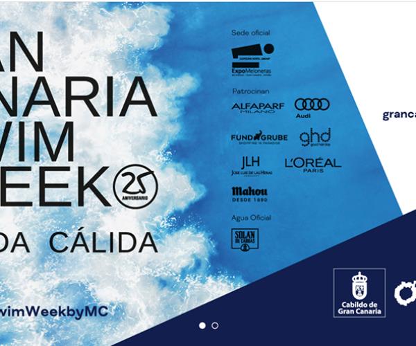 JLH Peluquerías y la prestigiosa marca profesional italiana Alfaparf Milano unen sus talentos en el 25º aniversario de la pasarela Gran Canaria Swim Week By Moda Cálida