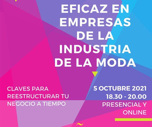 La Confederación ModaEspaña inicia el seminario híbrido 'La gestión eficaz en empresas de la industria de la moda'