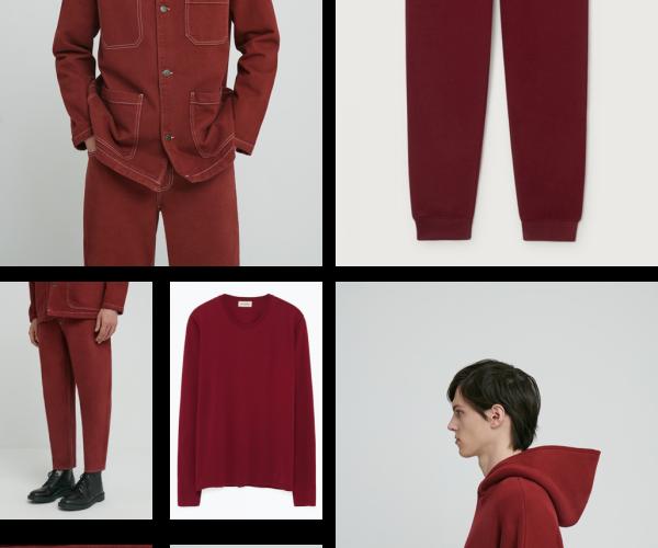 American Vintage Men adapta el clásico color burdeos a las tendencias street style