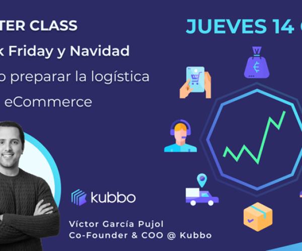 Kubbo te invita a una masterclass para preparar la logística del Black Friday y Navidad